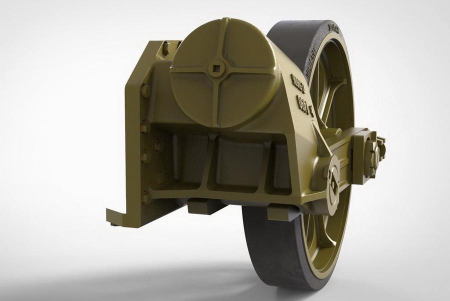 13-dents US Light Tank M5//M5A1//M8 HMC Drive Pignons Fury Modèles 1//35 35007